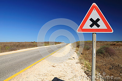Traffic Sign Intersection.