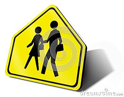 Traffic sign school