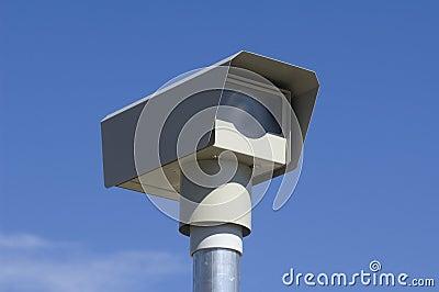 Traffic speed camera