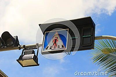 Trafic sign