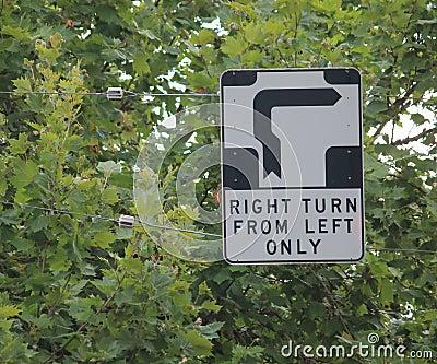 Trafic sign Melbourne