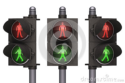 Trafikljusgångare