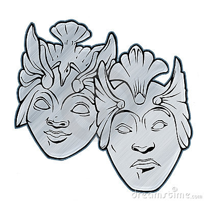 Tragedy Comedy Theater masks