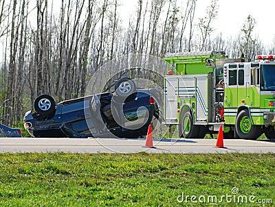 Tragic auto accident