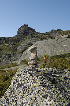 Free Trail Marker Or Cairn Stock Image - 11461991