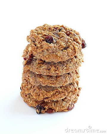 Free Trail Mix Cookies Stock Images - 4653434