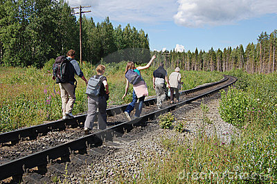 Trailway line