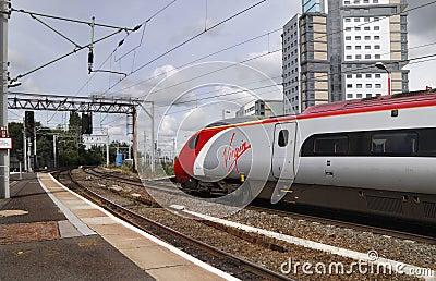 Train Editorial Stock Image