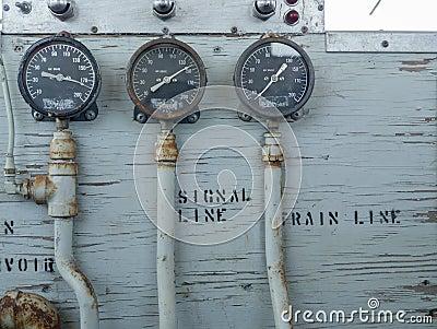Train Air Brake guages