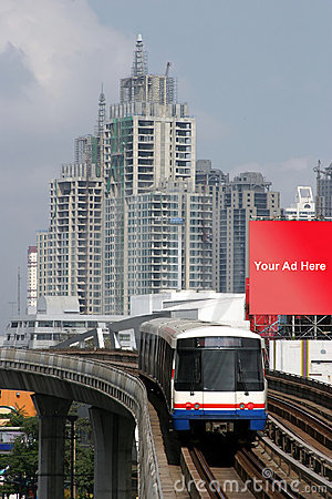 Train in Bangkok, Thailand