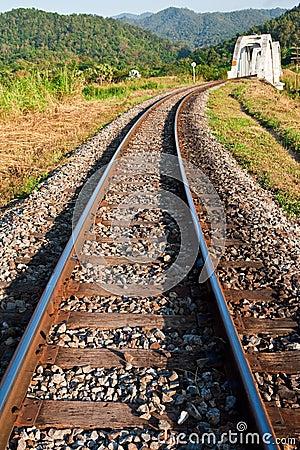 Train birdge in northern Thailand