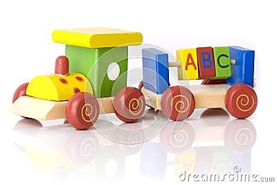 Train for childeren Editorial Stock Photo