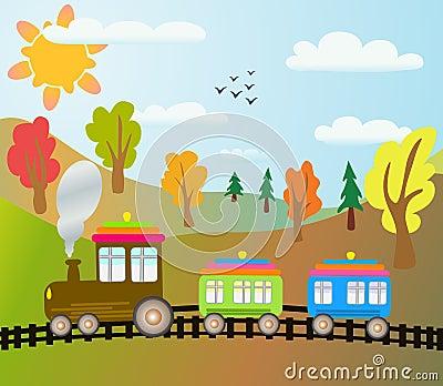 train-de-dessin-anim-eacute-thumb15652601