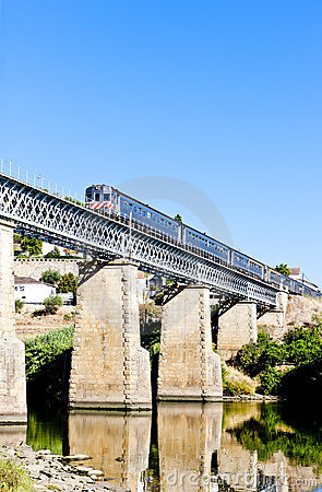 Train in Douro Valley