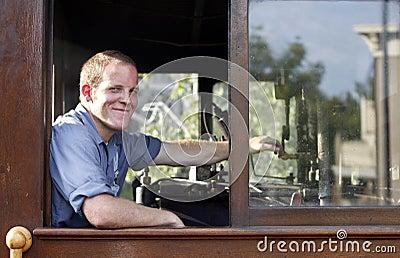 Train engineer