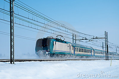 Train froid