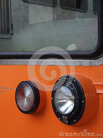 Train headlight