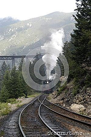 Free Train In Fog Stock Photo - 287690