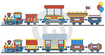 Train for kids design.