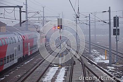 Train at local line
