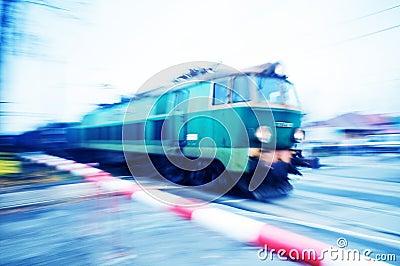 Train motion