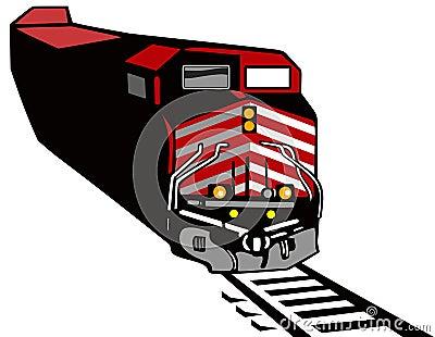 Train red diesel