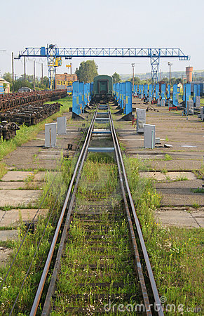 Free Train Repair Yard Royalty Free Stock Photography - 6418057