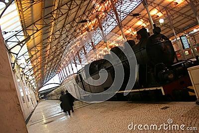 Train at Rossio