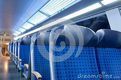 Train seats 1