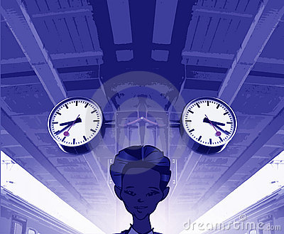Train series - past/future/present