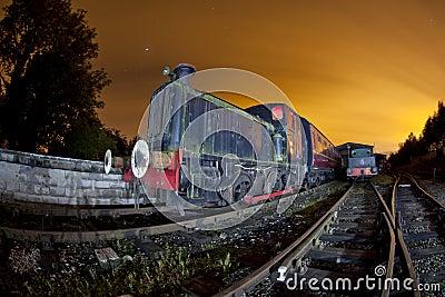 Train siding