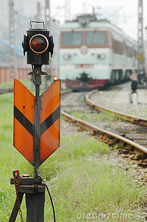 Free Train Signal Royalty Free Stock Photo - 15063205