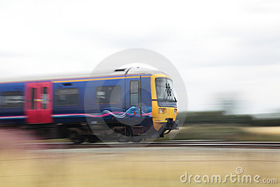 Train at speed