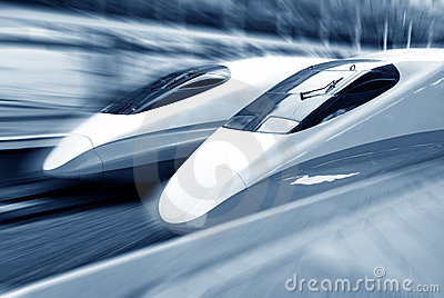 Train speeding