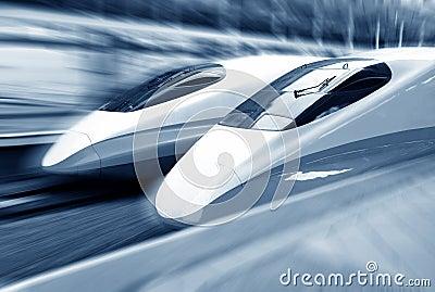 Train speeding