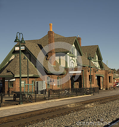 Train Station in Historical Flagstaff
