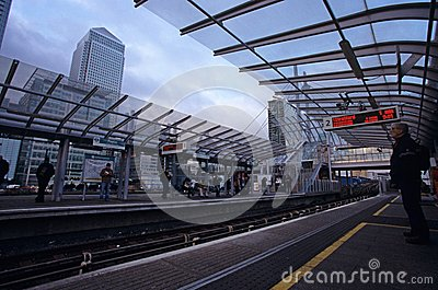 A train station in London Editorial Photo