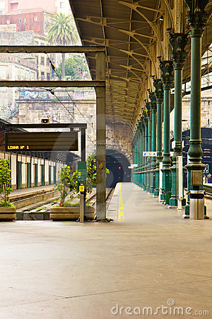 Train station, Porto, Portugal