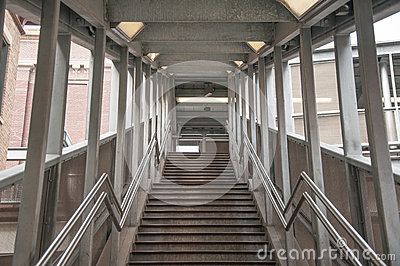 Train Station Stairs