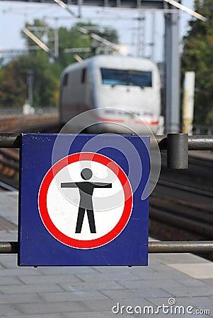Train station warning 2