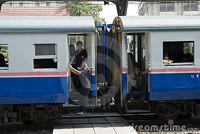 Train Thailand Editorial Photo