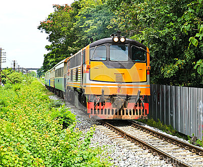 Train in thailand