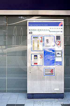 Train Ticket Dispenser