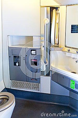 Free Train Toilet Royalty Free Stock Image - 12715066