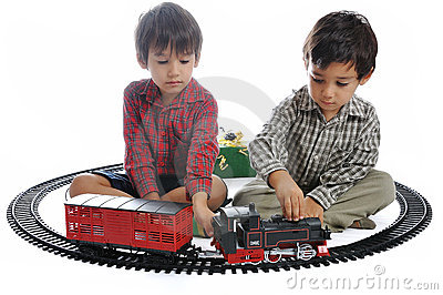 Train toy, for children