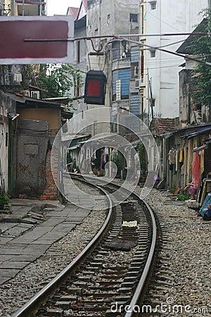 Free Train Tracks Royalty Free Stock Image - 1608556
