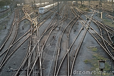 Train Tracks in Munich