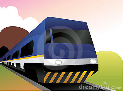 Train vector composition