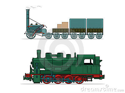 Train (vector illustration)