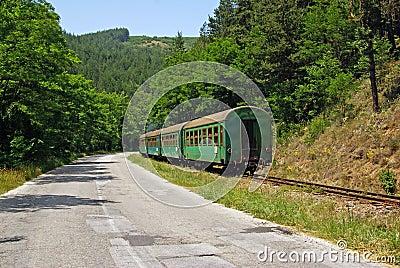 Train vert
